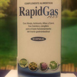 Comprimidos para gases y malas digestiones rapidgas