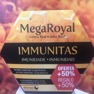 jalea real con hongos 30 ampollas