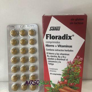 Vitaminas hierro fatiga cansancio Floradix 80 comprimidos