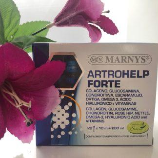 Complemento para huesos y articulaciones. Artrohelp forte 20+10 ampollas