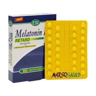Regulador del sueño natural, Melatonin pura retard 60 tabletas